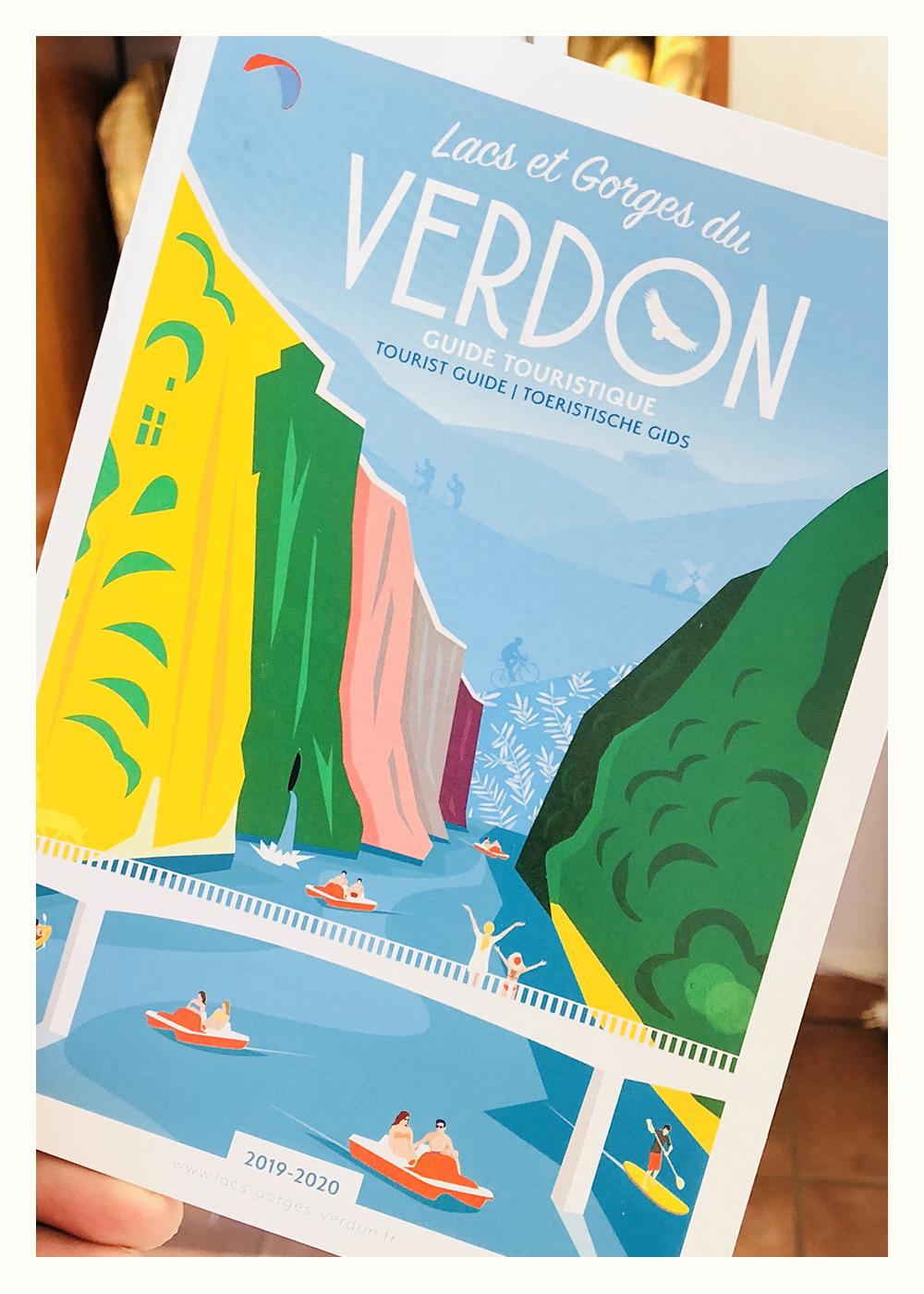 Eric Garence Affiche Verdon Var Provence Rétro Vintage Pédalo Lake Sainte Croix Aiguines Aups Régusse Moissac Villecroze